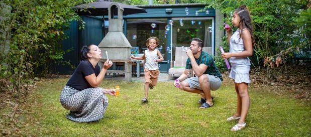 Mit der Familie im Ferienhaus bei Center Parcs
