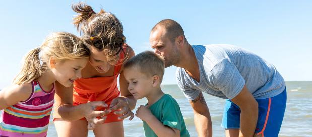 Familienwochenende an der Nordsee