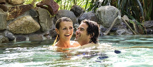 Paar im Aqua Mundo Erperheide