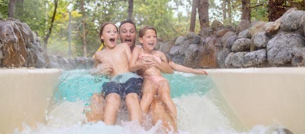 Wasserrutsche im Aqua Mundo
