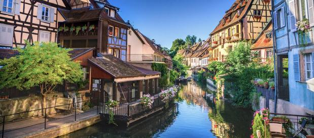Städte in Ostfrankreich