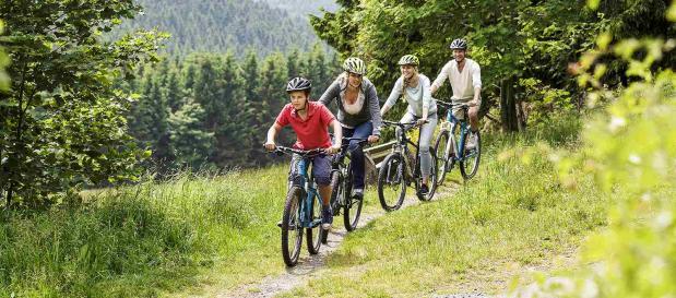 Familien-Radtour im Sauerland