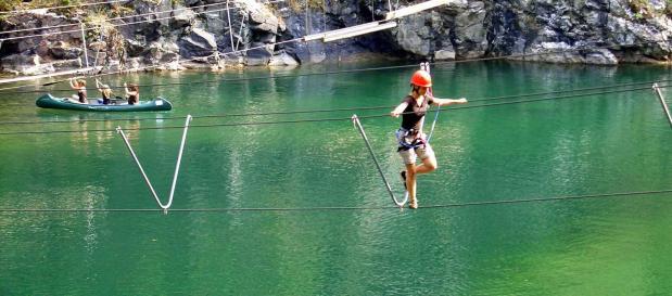 Wassersport am See im Park Hochsauerland