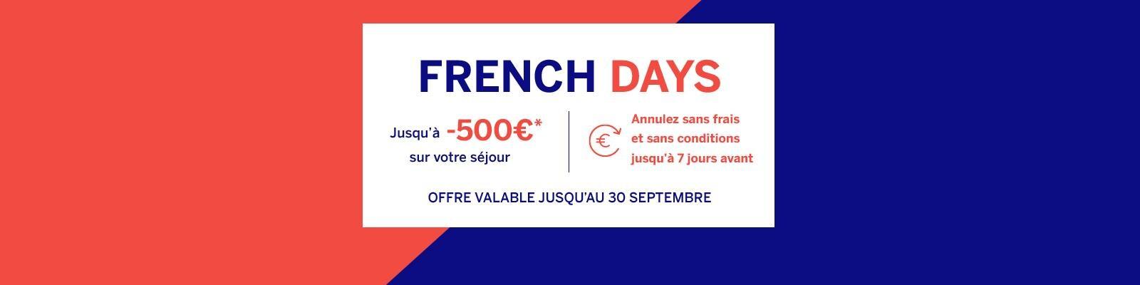 Vente flash French Days