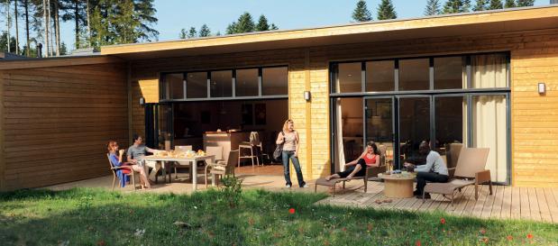 Nouveaux cottages Haut de bruyères en images