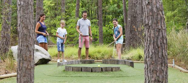 Mini-golf enfants