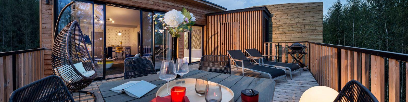 Luxe bungalows les Trois Forets