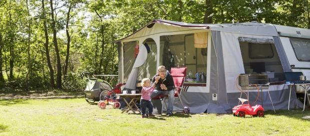 Camping Port Zélande tent