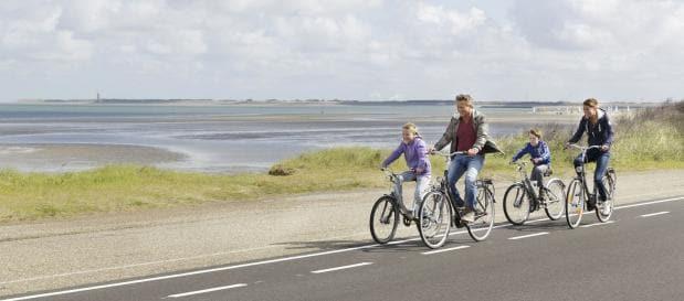 Fietsvakantie in Zeeland of Zuid-Holland