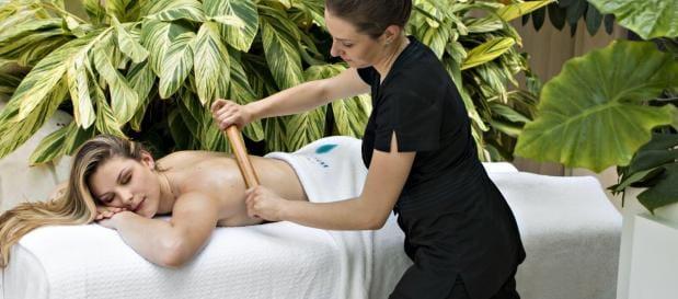 Vakantie Frankrijk massage