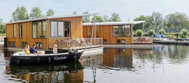 bungalow woonboot