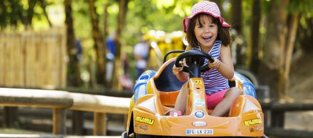 Ganz neue Aktivitäten: Kinder-Fahrschule