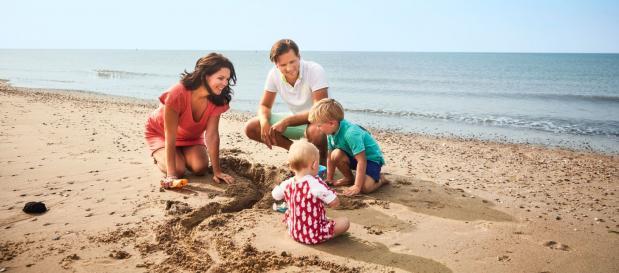 Vakantieparken in Nederland - aan zee