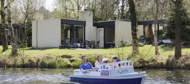 Vakantieparken Nederland boot
