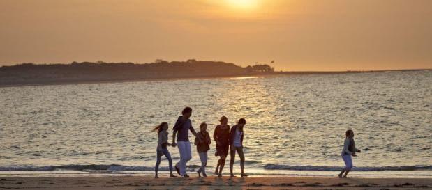 Vakantiepark Zeeland strandwandeling